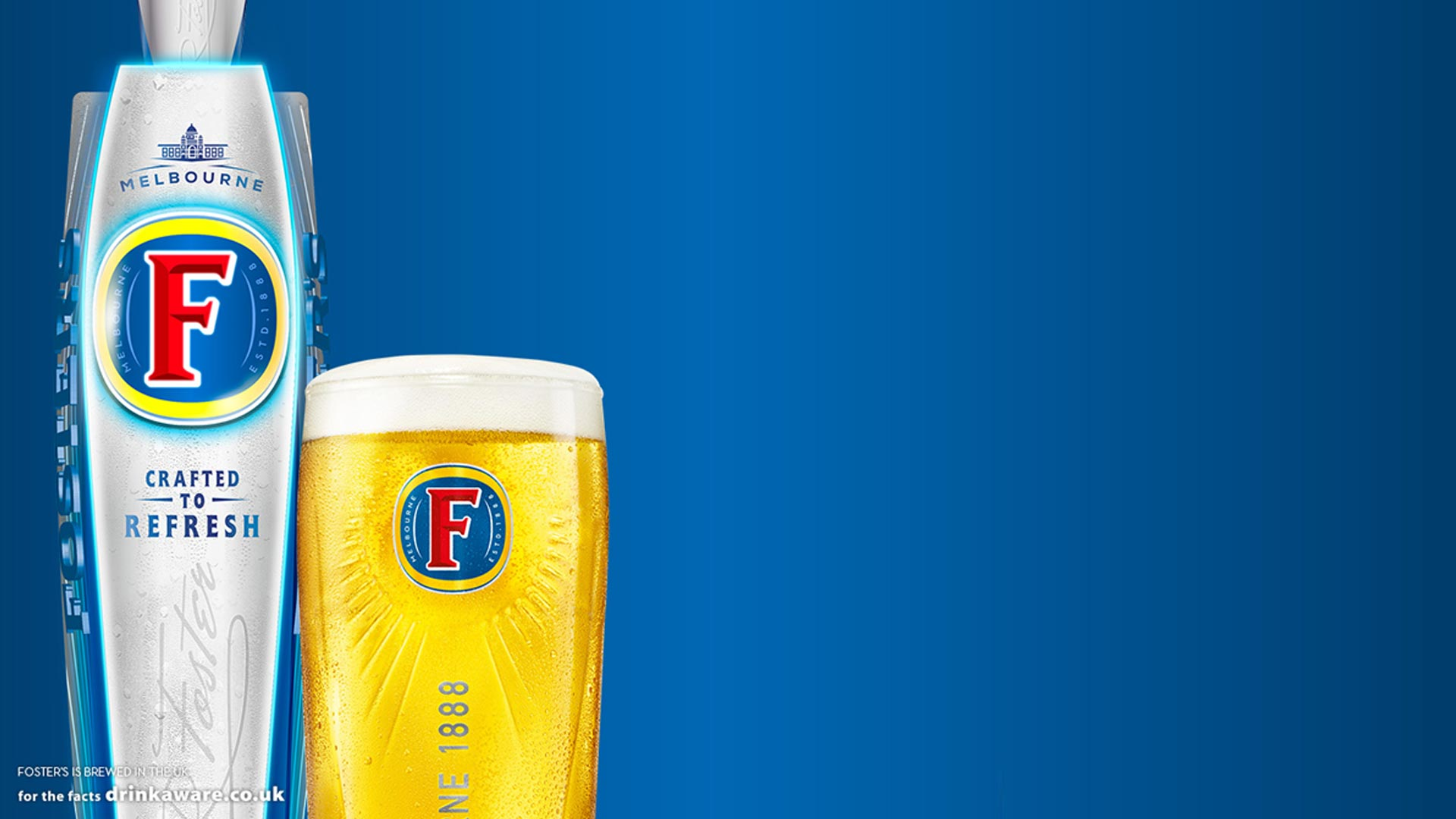 Foster's on draught
